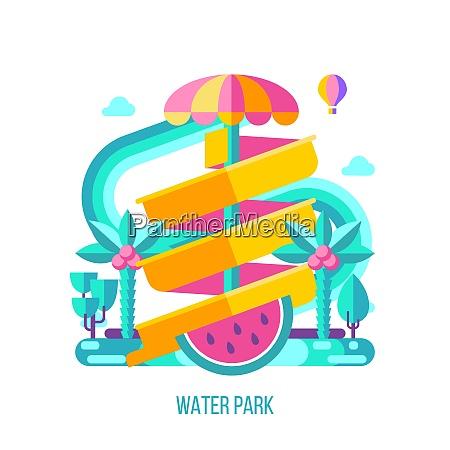 water park amusement park a water