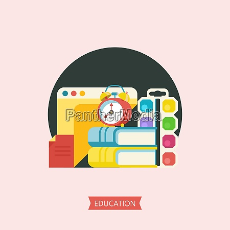 education school vector emblem logo vector