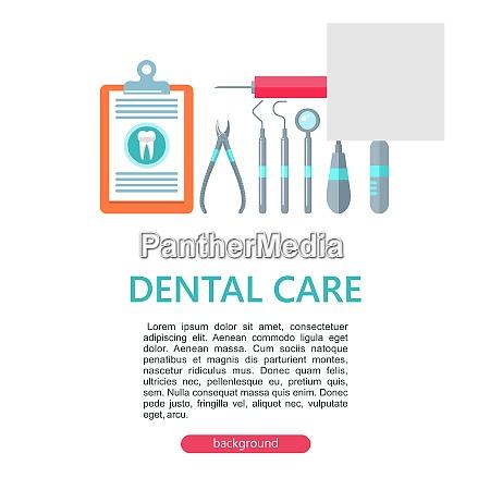 dental care vector illustration dental care