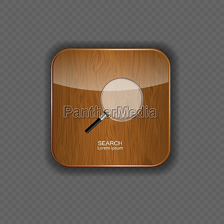 search wood application icons