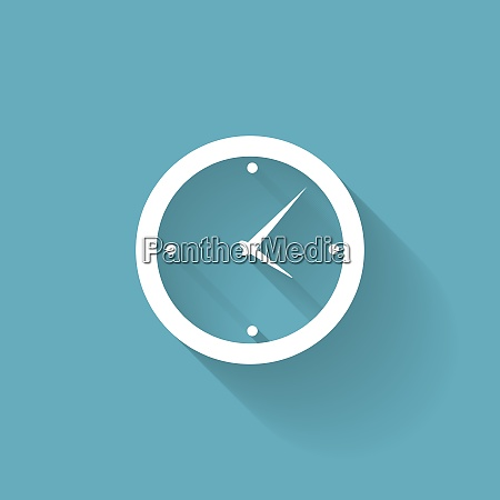modern flat time management vector icon