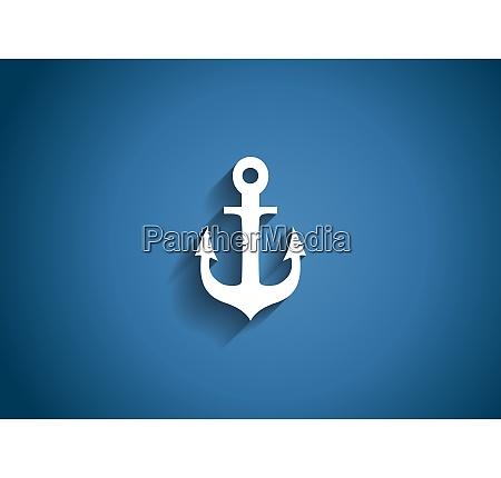 sea glossy icon vector illustration on