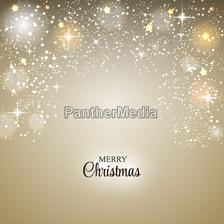 christmas glossy star background vector illustration