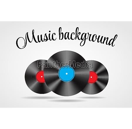 set of abstract music background vector