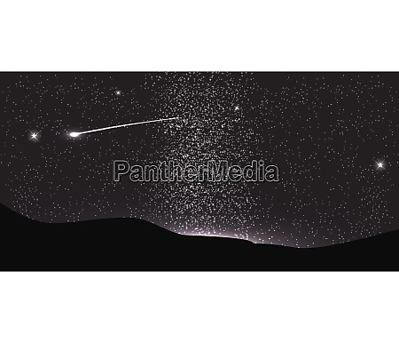 comet fly around the planet in