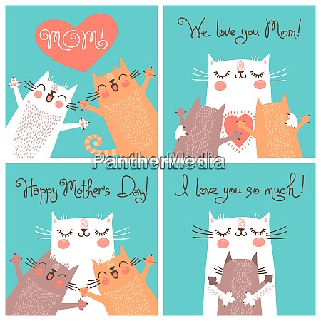 sweet cards for mothers day with