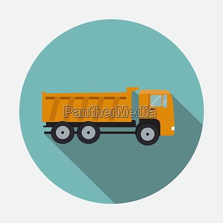 ftat truck vector illustration eps10 ftat