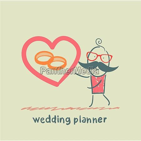 wedding planner ring shows