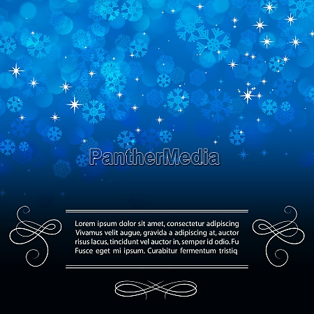 vector illustration christmas snowflakes background eps
