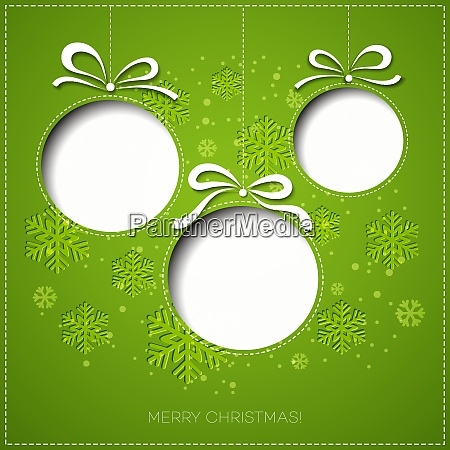 merry christmas tree greeting card paper