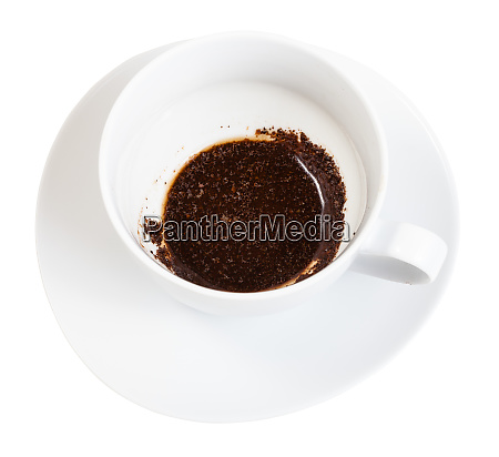 the rest of the coffee drink