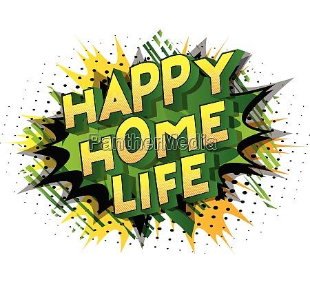 happy home life comic book