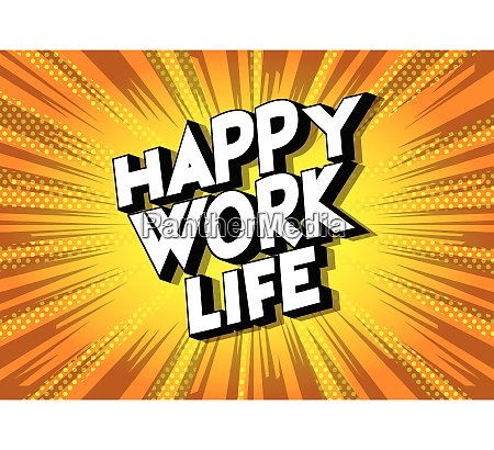 happy work life comic book