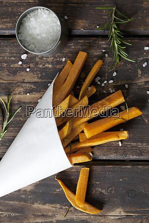 sweet potato fries with rosmary