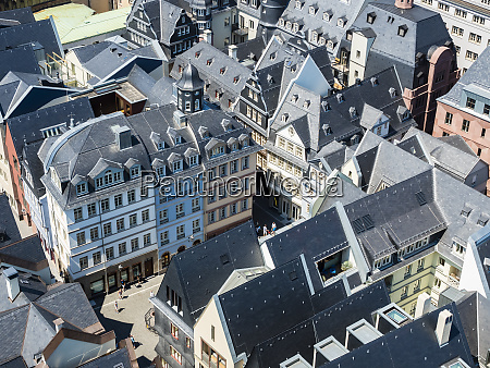 germany hesse frankfurt old town dom