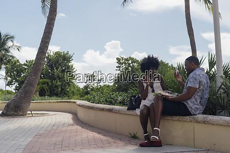 usa florida miami beach young man