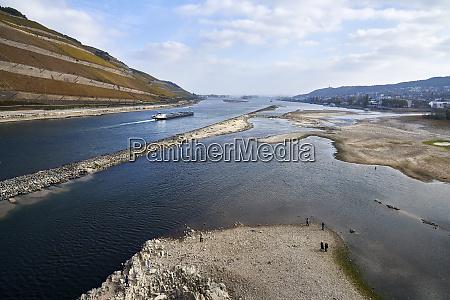 germany rhineland palatinate bingen rhine river