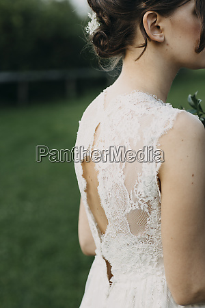 close up of young woman wearing