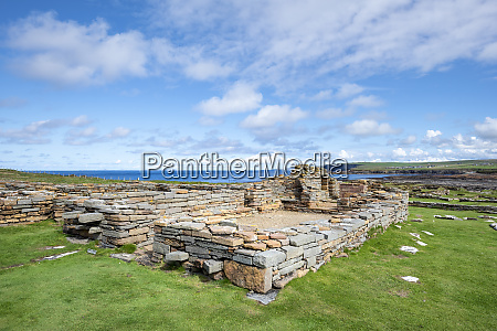 great britain scotland orkney mainland brough