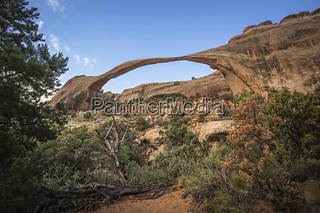 usa utah arches national park natural