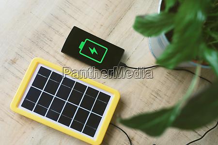 renewable energy technology solar panel charging