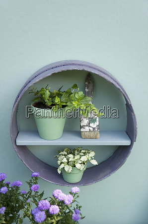 flower decoration flour sifter shelf brush