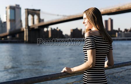 usa new york brooklyn woman wearing