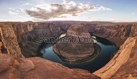 usa arizona panoramic view of bendhorse
