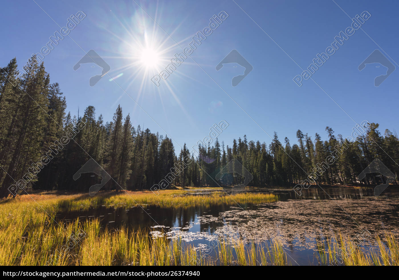 usa, , california, , yosemite, national, park, , lake - 26374940