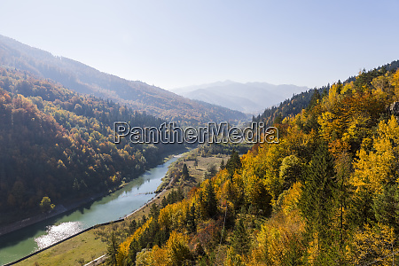 rumania transylvania vidraru dam