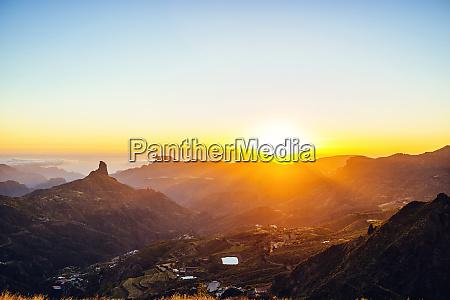 spain canary islands gran canaria mountain