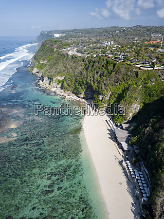 indonesia bali aerial view of karma