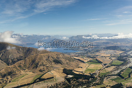 new zealand south island otago aerial