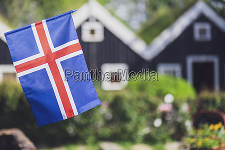iceland iceland national flag in the
