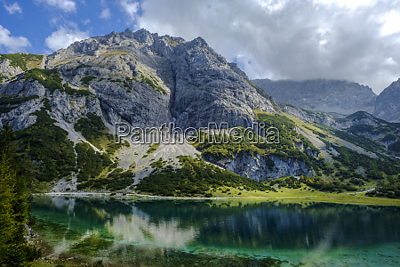 austria tyrol wetterstein mountains mieminger kette