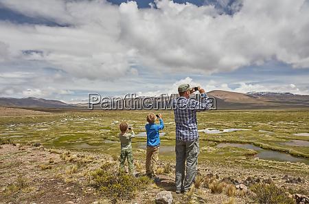 peru chivay colca canyon father and