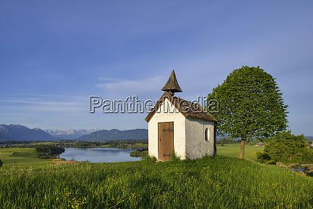 germany upper bavaria aidlinger hoehe chapel