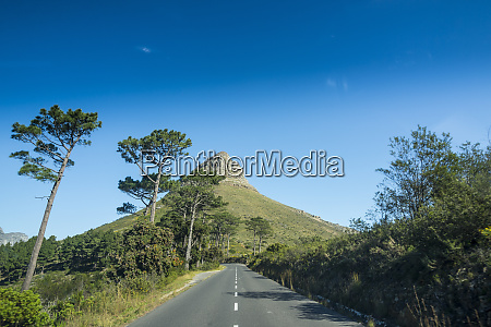 south africa cape town road leading