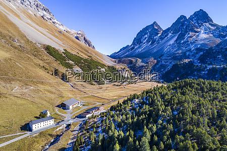 switzerland grisons albula valley albula pass