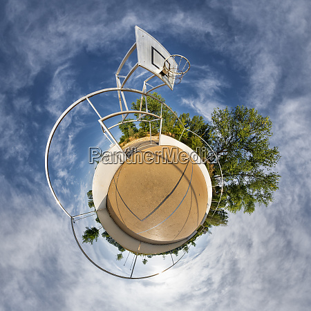 basketball ground little planet