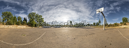 basketball ground 360 degree view