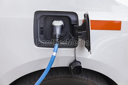 electric car recharging