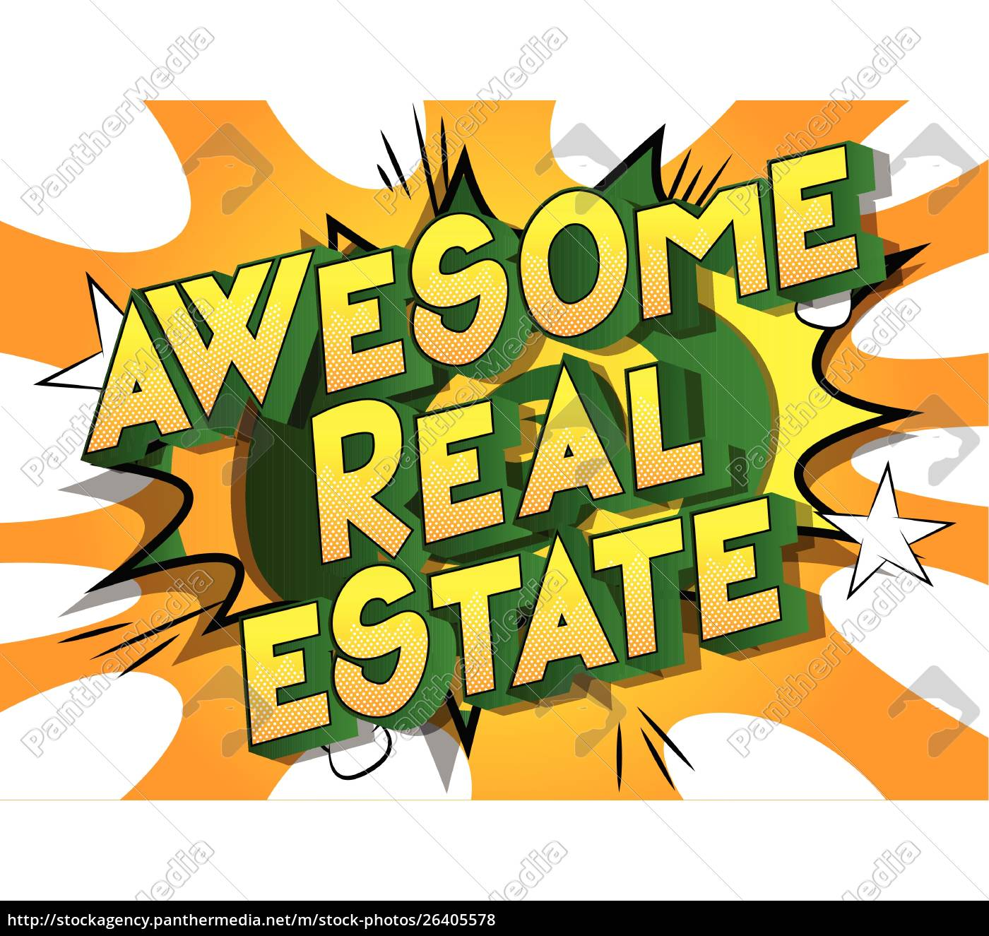 awesome, real, estate, -, comic, book - 26405578