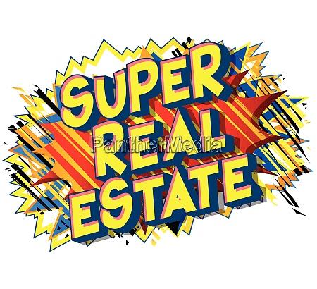 super, real, estate, -, comic, book - 26405585