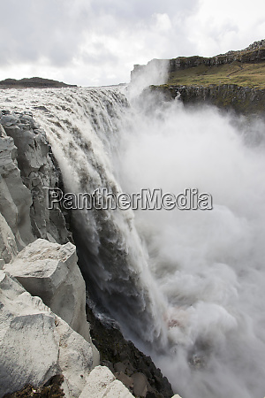 dettifoss waterfall the largest in europe