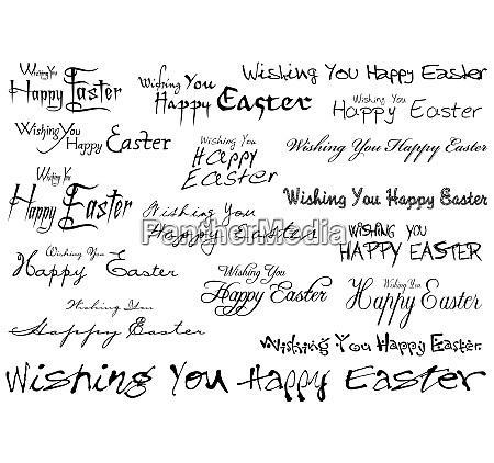 inscriptions happy easter