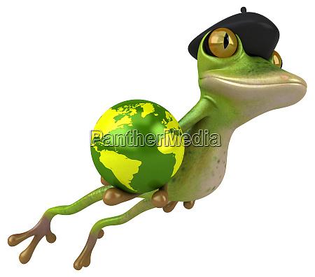 fun, duck, -, 3d, illustration - 26414499