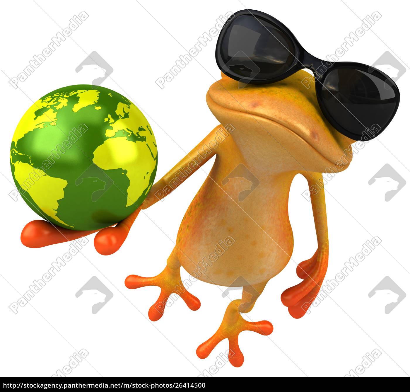 fun, duck, -, 3d, illustration - 26414500