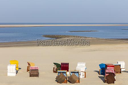 beach chair in the sand