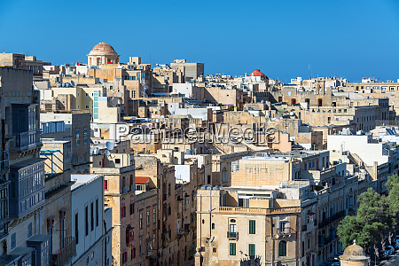 cityscape view of valletta malta